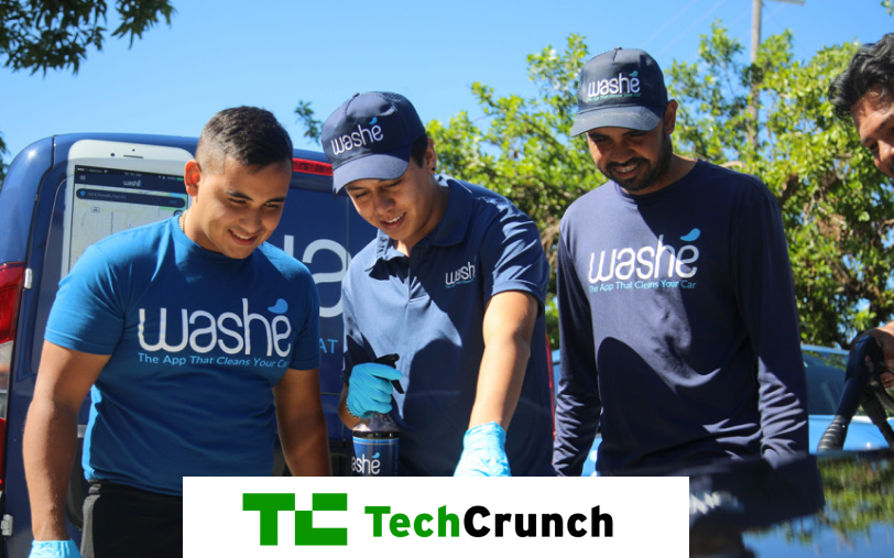 Washé raises $3.5 million for its on-demand car washing service and biz platform