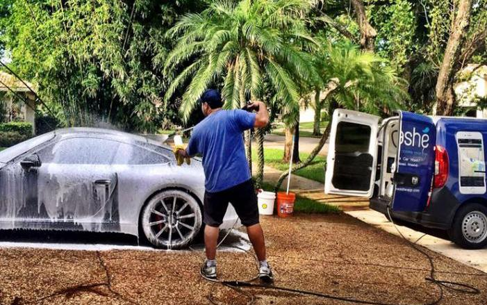 Washé Is A New On-Demand Car Wash Service Based In Boca Raton
